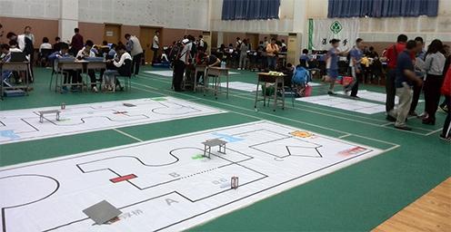 2016 Shenzhen K-12 Robot Competition Image