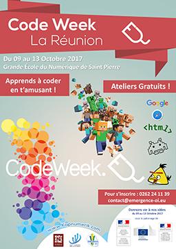 Code Week La Réunion Image
