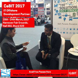 CeBIT Hannover 2017 – Latest Technology Partner – IoT, VR, Wearable, AI Image