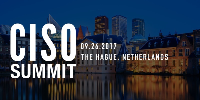 CISO Summit Netherlands 2017 Image