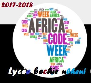 Africa code week-lycée bechir nabheni Image