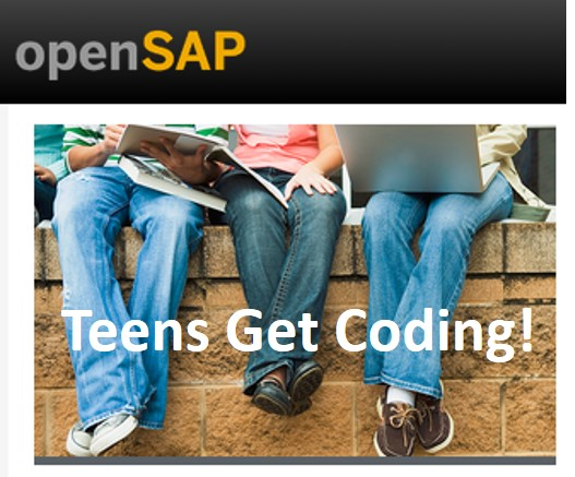 Teens Get Coding! Image