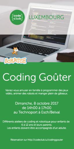 Coding Goûter 2017 Image