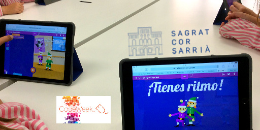 Code Week al Sagrat Cor de Sarrià Cover Image