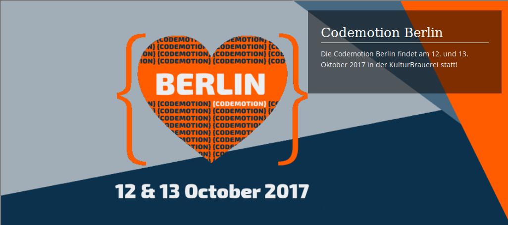 Codemotion Berlin Image