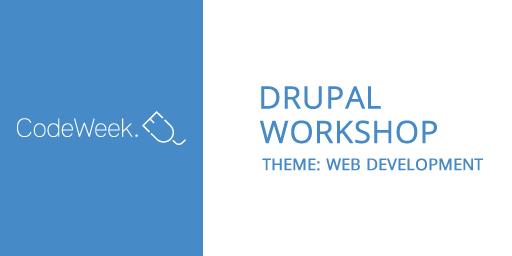 Drupal Workshop for high school student Image