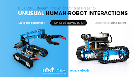 UIST 2018 Student Innovation Contest Image