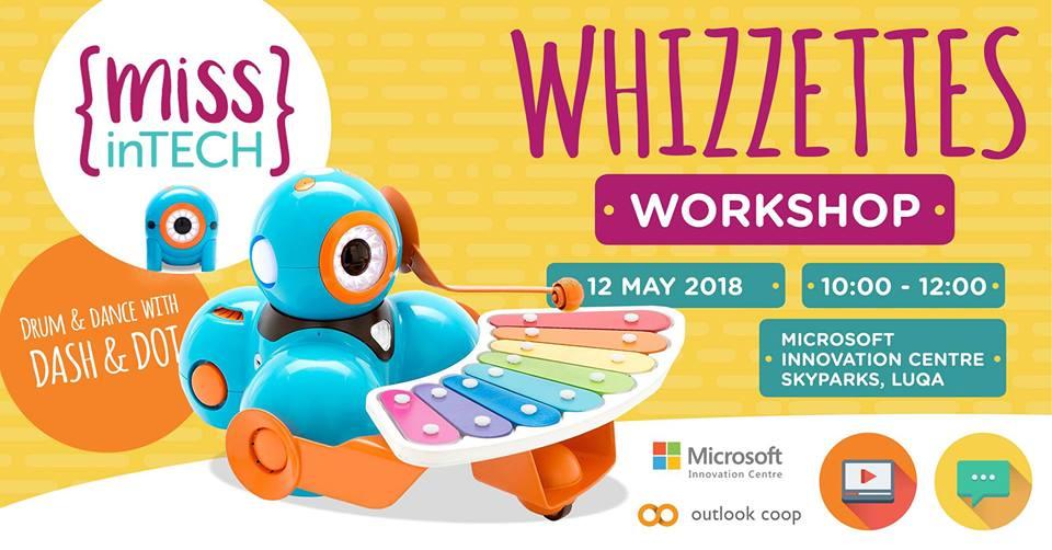 Whizzettes Workshop :: Drum & Dance with Dash & Dot Image