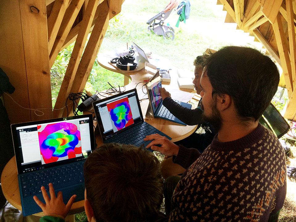 We Love SINE WAVES Workshop Image