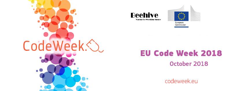 Risultati immagini per europe code week 2018