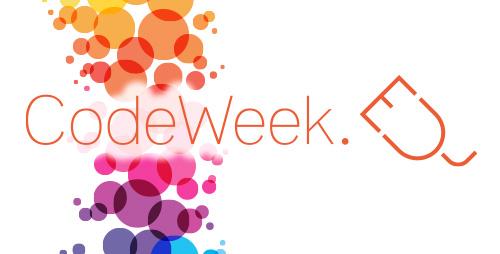 Znalezione obrazy dla zapytania: code week logo